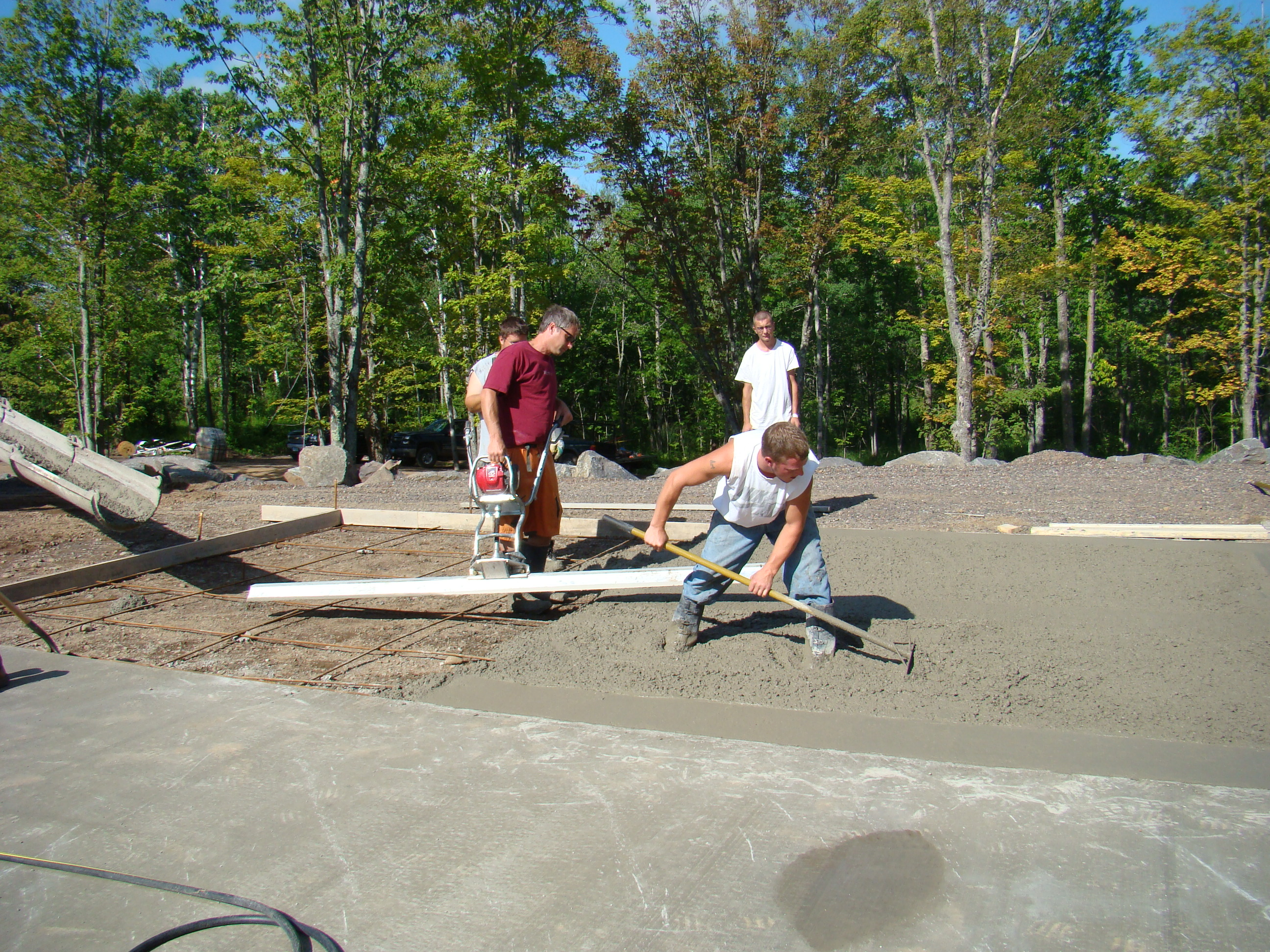 Concrete Work | Dirt Inc.